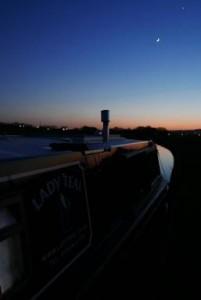 Sunset At Altham