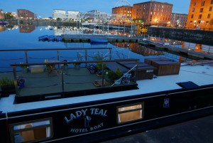 Lady Teal in Salthouse Dock 2