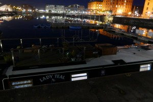 Lady Teal in Salthouse Dock