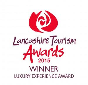 Lancashire Tourism Awards 2015 winners logo Luxury Experience Award copy... (1)