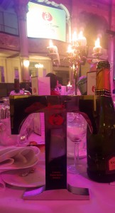 Award on Table