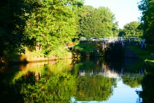 Hirst Lock on the Leeds and Liverpool near Bingley