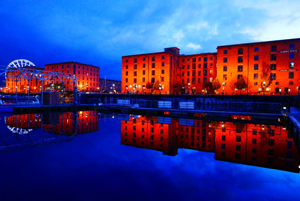Salthouse and Albert dock Liverpool