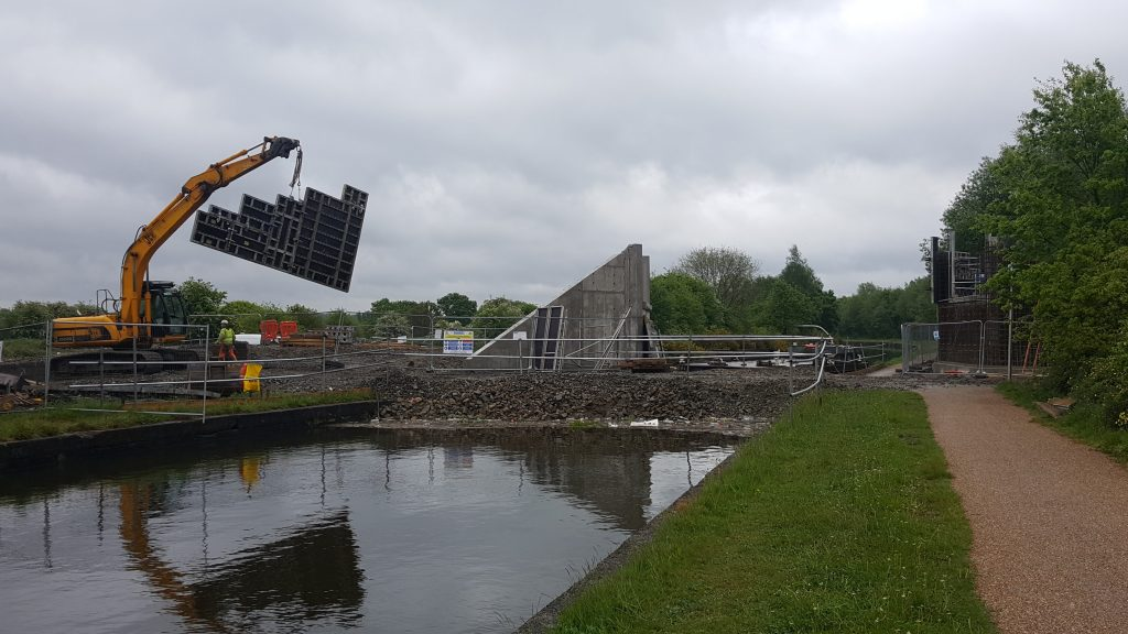 Bridgewater Canal Bridge works