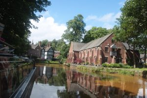 Worsley on the Bridgewater Canal