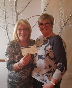 Presentation of Petal charity cheque