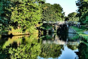 Hirst Lock on the Leeds and Liverpool near Bingley