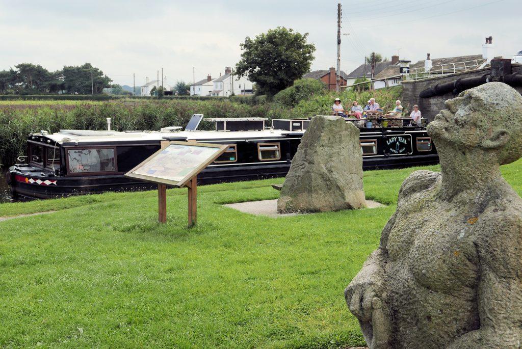 Thompson Dagnall Navvy memorial Halsall Leeds Liverpool canal