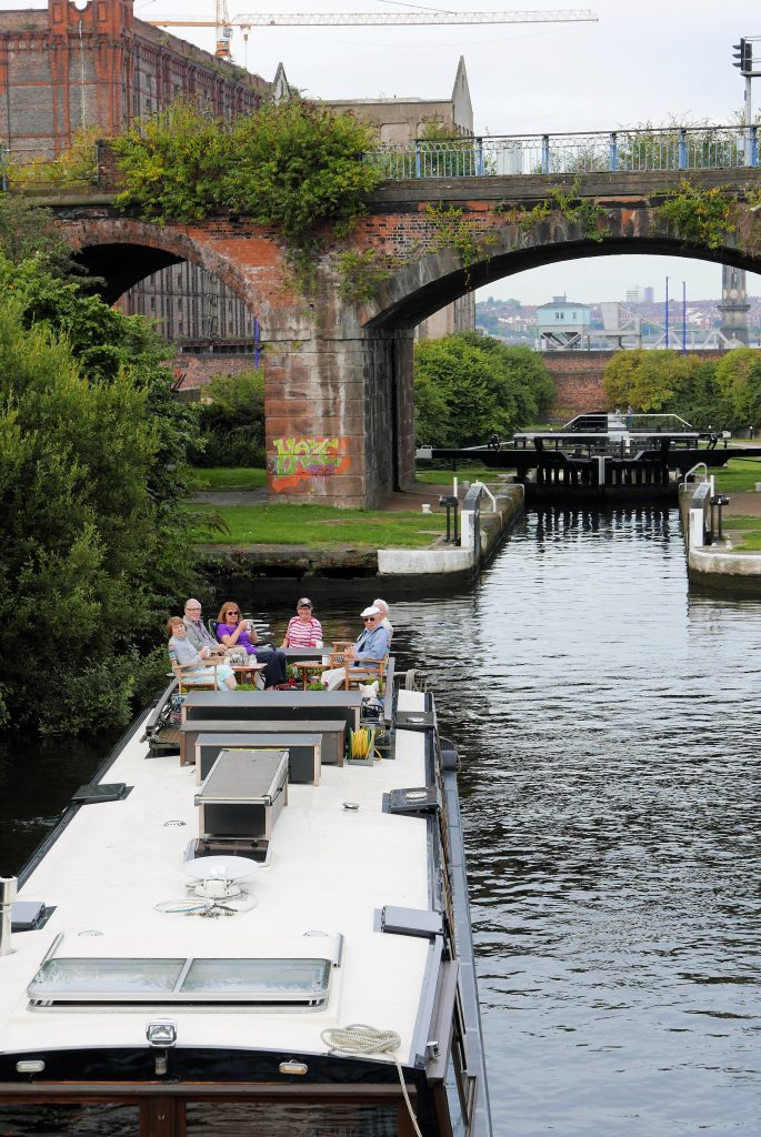 Stanley flight from Liverpool docks to Leeds Liverpool canal