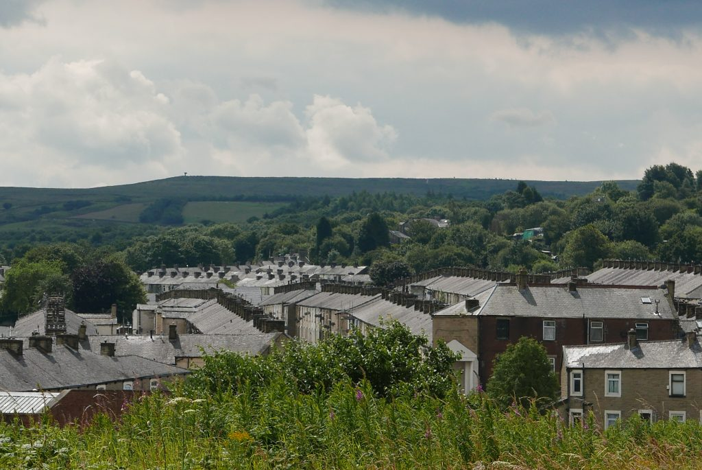View of Burnley from the mile