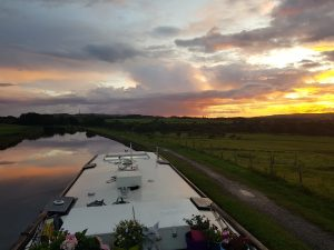 Lancashire mooring on the Leeds and liverpool
