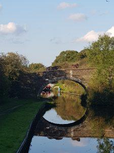 Horse on Canal Bridge