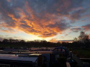 Sunrise at Reedley