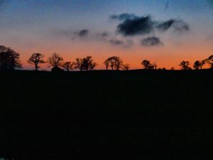 Sunset Gargrave
