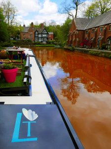 Lady Teal at Worsley on the Bridgewater Canal