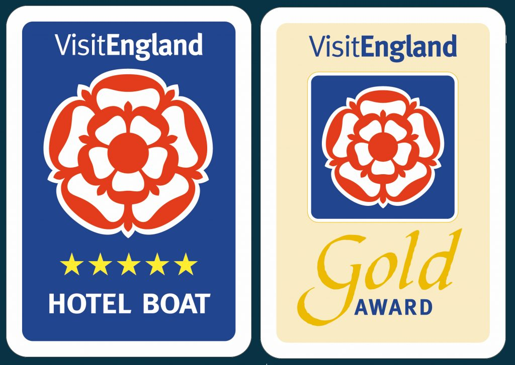 VisitEngland 5 Star Gold