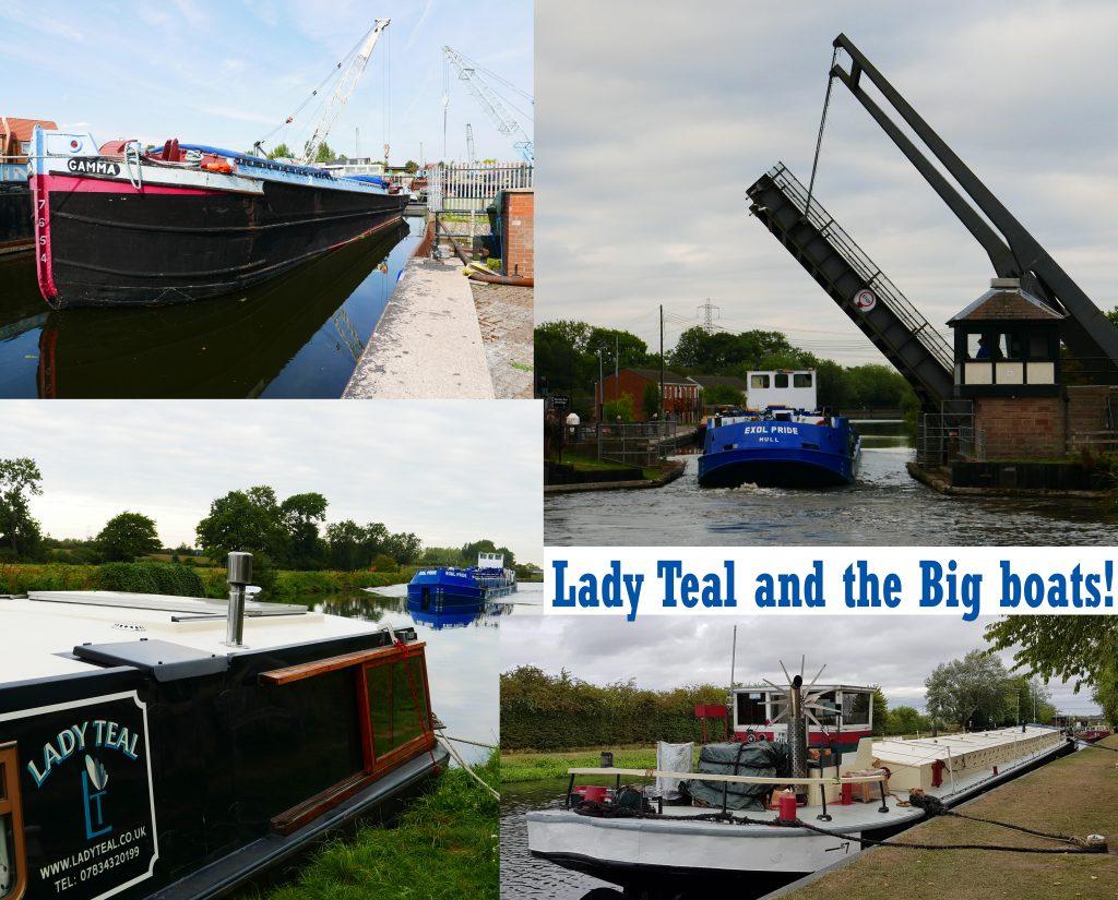 Big commercial boats