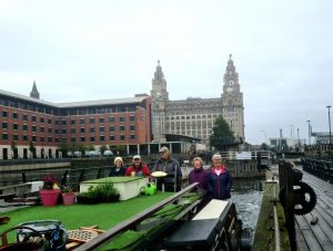 Coming out of Liverpool